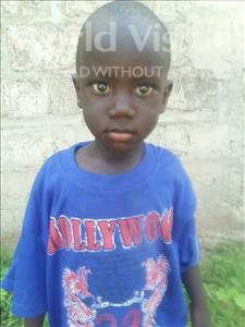 Choose a child to sponsor, like this little girl from Mbella, Mbar age 4