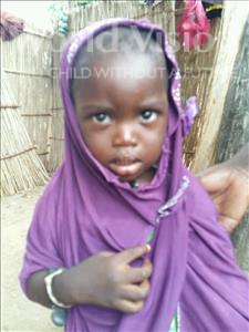 Choose a child to sponsor, like this little girl from Mbella, Niane age 2