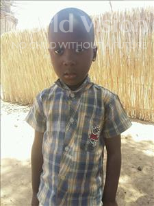 Choose a child to sponsor, like this little boy from Mbella, Modou age 5