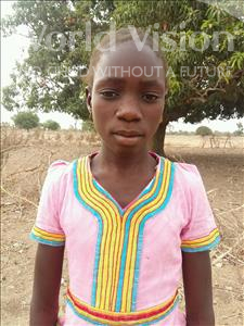 Choose a child to sponsor, like this little girl from Loul, Amy age 12