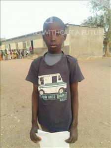 Choose a child to sponsor, like this little boy from Loul, Alouise age 12