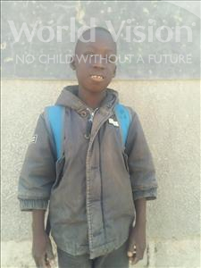 Choose a child to sponsor, like this little boy from Loul, Moustapha Diegue age 10