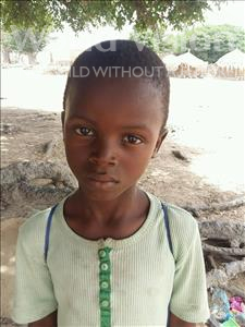 Choose a child to sponsor, like this little boy from Loul, Samba age 7