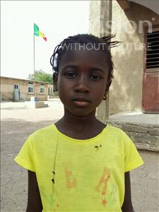 Choose a child to sponsor, like this little girl from Loul, Fatou age 7