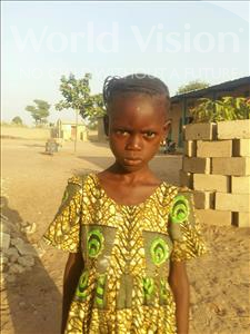 Choose a child to sponsor, like this little girl from Loul, Khady age 8