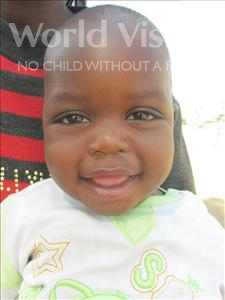 Choose a child to sponsor, like this little boy from Loul, Moussa age 2