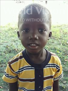 Choose a child to sponsor, like this little boy from Loul, Bernard Kory age 5