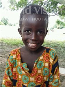 Choose a child to sponsor, like this little boy from Loul, Gerard Antoine Ngor age 6