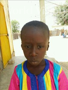 Choose a child to sponsor, like this little boy from Loul, Diame age 7