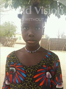 Choose a child to sponsor, like this little girl from Loul, Antoinette Coumba age 7