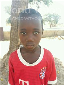 Choose a child to sponsor, like this little boy from Loul, Cheeky Anta age 5