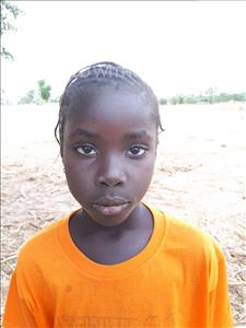 Choose a child to sponsor, like this little girl from Loul, Bernadette age 7