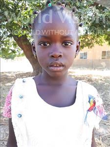 Choose a child to sponsor, like this little girl from Loul, Coumba age 3