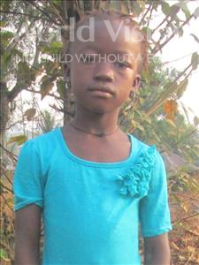 Choose a child to sponsor, like this little girl from Jong, Zainab age 13