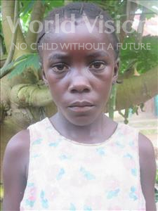 Choose a child to sponsor, like this little girl from Jong, Mbaindu age 11