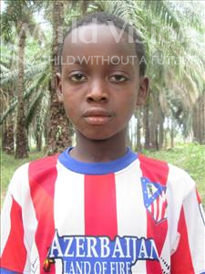Choose a child to sponsor, like this little boy from Jong, Kadara age 12