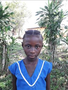 Choose a child to sponsor, like this little girl from Jong, Fatmata age 9