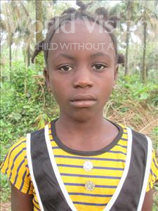 Choose a child to sponsor, like this little girl from Jong, Hannah age 11