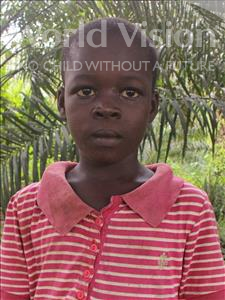 Choose a child to sponsor, like this little boy from Jong, Henry age 8