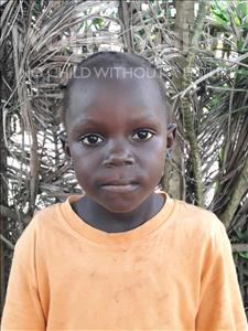Choose a child to sponsor, like this little girl from Jong, Jamiyatu age 4