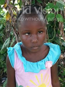 Choose a child to sponsor, like this little girl from Jong, Martha age 5