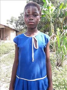 Choose a child to sponsor, like this little girl from Tegloma, Sallay age 13