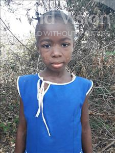 Choose a child to sponsor, like this little girl from Tegloma, Umu age 11