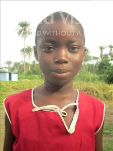 Choose a child to sponsor, like this little girl from Tegloma, Mariama age 11