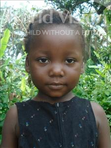Choose a child to sponsor, like this little girl from Tegloma, Shalley age 7