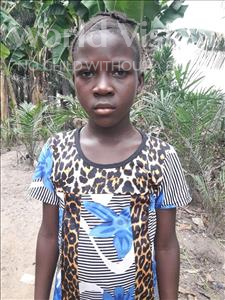 Choose a child to sponsor, like this little girl from Tegloma, Fatmata age 11