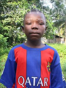 Choose a child to sponsor, like this little boy from Tegloma, Tommy age 12