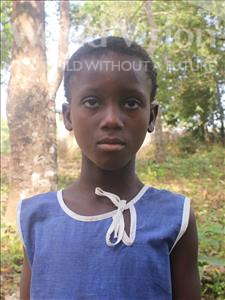 Choose a child to sponsor, like this little girl from Tegloma, Aminata age 9
