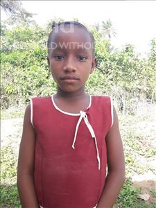 Choose a child to sponsor, like this little girl from Tegloma, Mariatu age 9