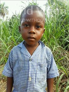 Choose a child to sponsor, like this little boy from Tegloma, Francis age 6