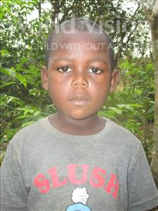 Choose a child to sponsor, like this little boy from Tegloma, Solomon age 5
