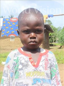 Choose a child to sponsor, like this little boy from Tegloma, Joseph age 5