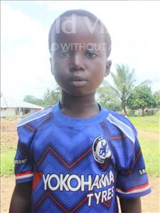 Choose a child to sponsor, like this little boy from Tegloma, Mustapha age 7