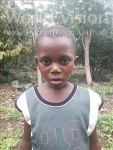 Choose a child to sponsor, like this little boy from Tegloma, Mohamed age 7