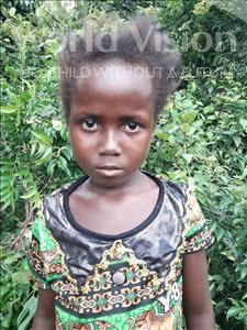 Choose a child to sponsor, like this little girl from Tegloma, Isata age 7