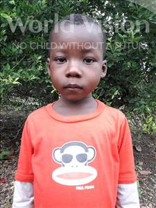 Choose a child to sponsor, like this little boy from Tegloma, Sandy age 6