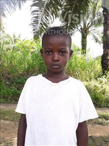 Choose a child to sponsor, like this little boy from Tegloma, Senesie age 5