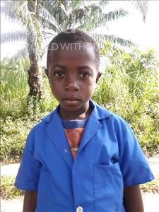 Choose a child to sponsor, like this little boy from Tegloma, Ishmae age 6
