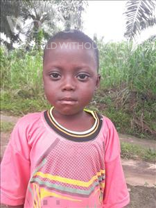 Choose a child to sponsor, like this little boy from Tegloma, Borbor Nabie age 4