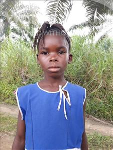 Choose a child to sponsor, like this little girl from Tegloma, Yeama age 9