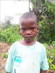 Choose a child to sponsor, like this little boy from Tegloma, Momoh age 2
