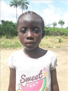 Choose a child to sponsor, like this little girl from Tegloma, Theresa age 7