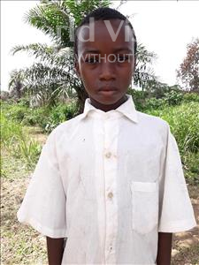 Choose a child to sponsor, like this little boy from Jaiama Bongor, Bockarie age 10