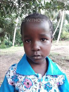 Choose a child to sponsor, like this little girl from Jaiama Bongor, Fatu age 7