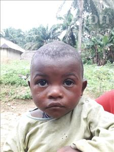 Choose a child to sponsor, like this little boy from Jaiama Bongor, Sheku age 1