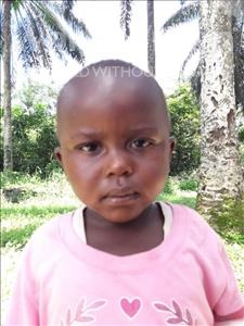 Choose a child to sponsor, like this little boy from Jaiama Bongor, Mustapha Sallu age 3